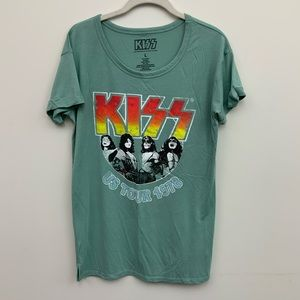 KISS Graphic Tee size Large